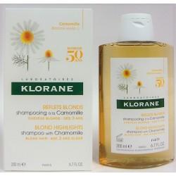 Klorane - Shampooing à la camomille Reflets blonds (200 ml)