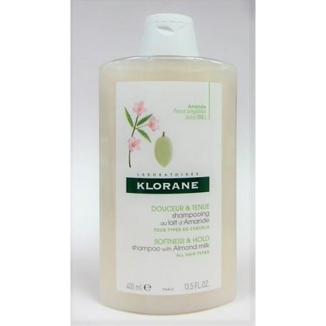 Klorane - Shampooing au Lait d'Amande Douceur & Tenue (400 ml)