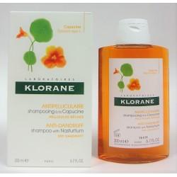 Klorane - Shampooing à la capucine Antipelliculaire Pellicules sèches (200 ml)