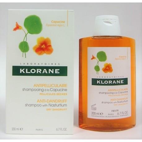 Klorane - Shampooing à la capucine Antipelliculaire et Assainissant