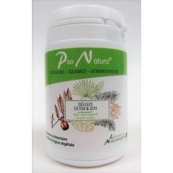 Pso Natura - DETOX & ZEN Bien-être digestif et anti-stress (60 gélules)