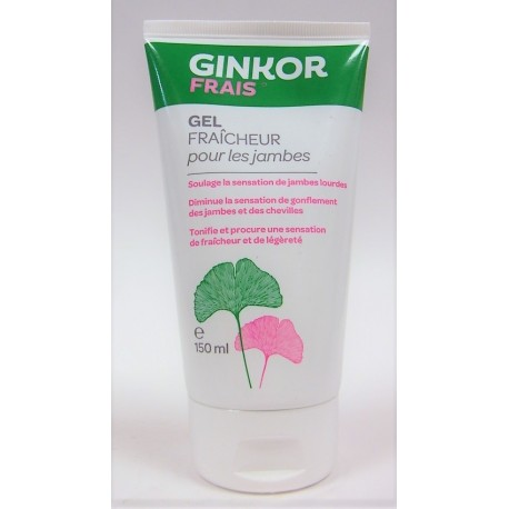 GINKOR FRAIS - Gel fraîcheur pour les jambes (150 ml)