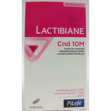 Pileje - Lactibiane . Cnd 10M (30 gélules)