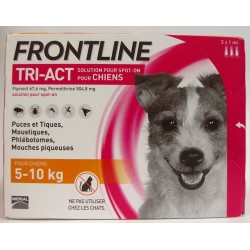 FRONTLINE - TRI-ACT Solution Spot-On Chiens (5-10 kg)