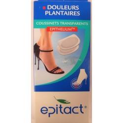 Epitact - Douleurs plantaires . Coussinets transparents (TU)