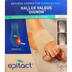 "Epitact - Hallux Valgus ""Oignon"" Orthèse correctrice rigide de nuit"