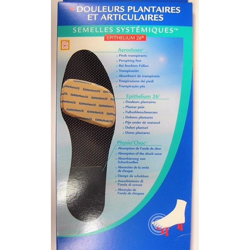 Epitact Semelles Physiodynamiques Taille 42//43 Epitact