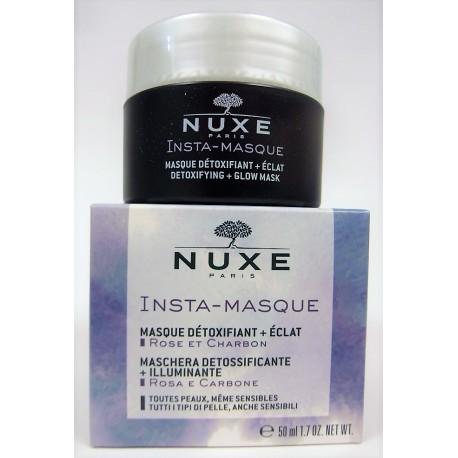 Nuxe - Insta-Masque Masque détoxifiant + éclat . Rose et Charbon (50 ml)
