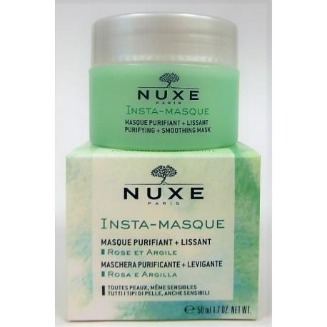 Nuxe - Insta-Masque Masque purifiant + Lissant . Rose et Argile (50 ml)