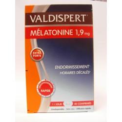 Valdispert - Mélatonine 1,9 mg Endormissement Horaires décalés
