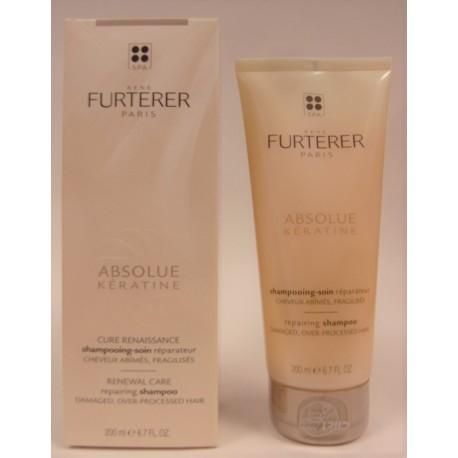 René Furterer - ABSOLUE Kératine Shampooing renaissance Cheveux ultra-abîmés (200 ml)