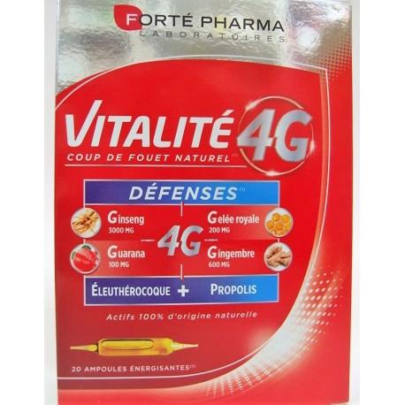 Forte Pharma - Vitalité 4G Défenses