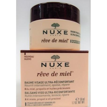Nuxe - Rêve de miel . Baume Visage Ultra-réconfortant (50 ml)