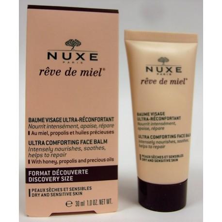 Nuxe - Rêve de miel . Baume Visage Ultra-réconfortant (30 ml)