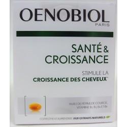 Oenobiol - Santé & Croissance . Stimule la croissance des cheveux