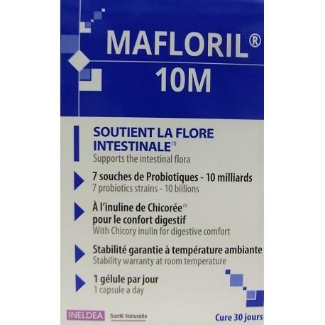 INELDEA - MAFLORIL 10M Soutient la flore intestinale