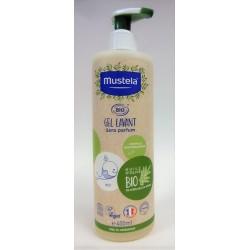 Mustela - Gel lavant BIO sans parfum (400 ml)