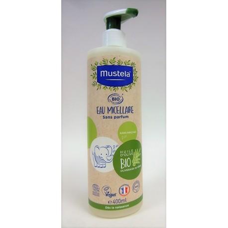 Mustela - Eau micellaire BIO sans parfum (400 ml)