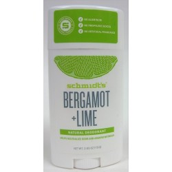 Schmidt's - Déodorant naturel Bergamote Lime (vegan)