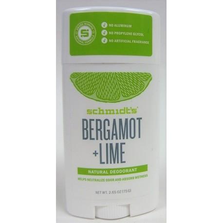 Schmidt's - Déodorant naturel Bergamote Lime (vegan)