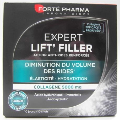 Forté Pharma - Expert Lift'Filler Diminution du volume des rides Elasticité - Hydratation