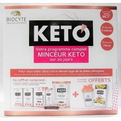 Biocyte - KETO votre programme complet Minceur KETO (20 jours)