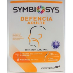 Symbiosys - Symbiosys Defencia Adulte Défenses immunitaires (30 sticks)