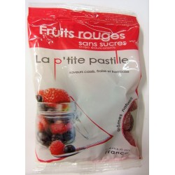 La p'tite pastille - Fruits rouges sans sucres