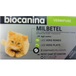 biocanina - Milbetel Vermifuge (petit chat et chaton)