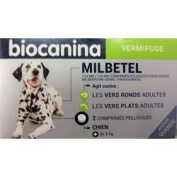 biocanina - MILBETEL . Vermifuge Chien (+ de 5 kg)
