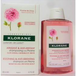 Klorane - Shampooing à la pivoine apaisant & anti-irritant (200 ml)