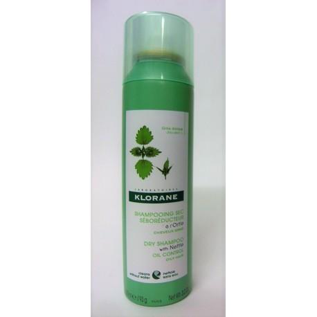 Klorane - Shampooing sec à l'ortie Séboréducteur (150 ml)