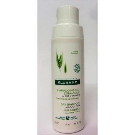 klorane - Shampooing sec extra doux au lait d'avoine (50 g)