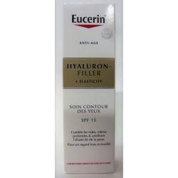 Eucerin - Hyaluron- Filler Elasticity . Soin Contour des yeux SPF15 (15 ml)