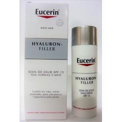 Eucerin - HYaluron-Filler Anti-âge Soin de jour SPF 15 Peau normale à mixte (50 ml)
