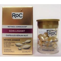 Roc - Soin lissant . Capsules sérum nuit (10 capsules)