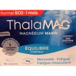 ThalaMAG - Equilibre intérieur Magnésium marin (30 comprimés)