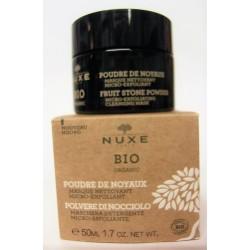 Nuxe Bio - Masque nettoyant micro-exfoliant . Poudre de noyaux (50 ml)