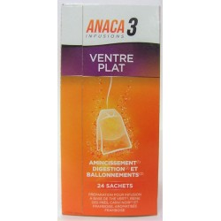 ANACA 3 - Ventre plat Infusions (24 sachets)