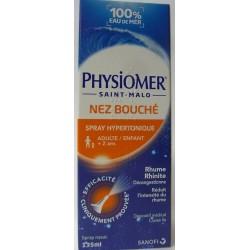 Physiomer Hypertonique - Nez bouché Hypertonique . Rhume, rhinite (spray 135 ml)