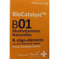Melio Vie - Biocatalyst B01 Multivitamines Naturelles & oligo-éléments (15 gélules)