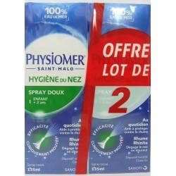 Physiomer - Hygiène du nez Jet Dynamique (lot de 2)