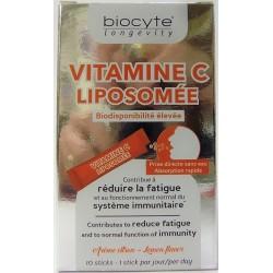 Biocyre - Vitamine C Liposomée Biodisponibilité élevée (10 sticks)
