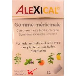 Melio Vie - ALEXICAL Gomme médicinale (21 gommes)