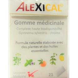 Melio Vie - ALEXICAL . Gomme médicinale (10 boîtes de 21 gommes)