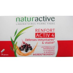 Naturactive - Activ 4 RENFORT Défenses immunitaires