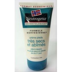 Neutrogena - Crème pieds très secs et abîmés . Hydratation 24H (150 ml)