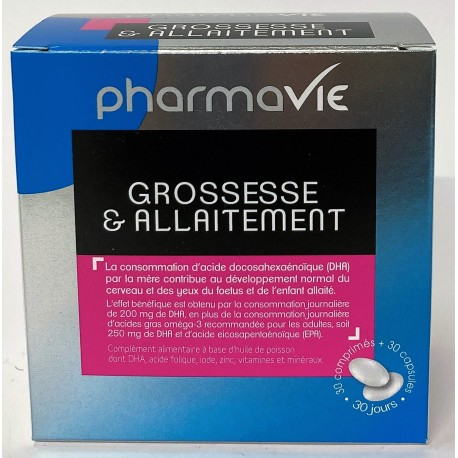 PharmaVie - Grossesse & Allaitement (30 comprimés)