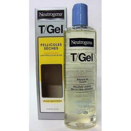 Neutrogena - Shampooing antipelliculaire T/Gel Pellicules sèches (250 ml)