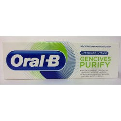 Oral-B - Dentifrice Gencives PURIFY Nettoyage intense (75 ml)
